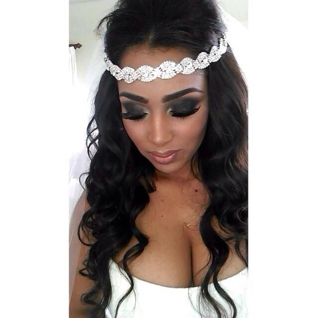 Astonishing 1000 Ideas About Black Wedding Hairstyles On Pinterest Wedding Hairstyle Inspiration Daily Dogsangcom