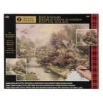 Plaid 16 in. x 20 in. Lamplight Bridge Paint By Number Kit