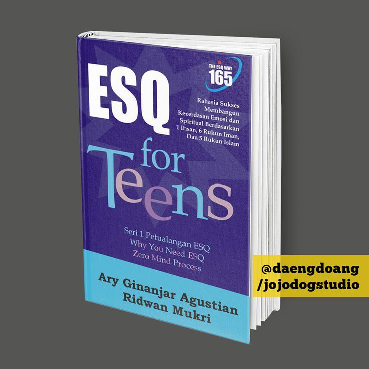 Book Cover Design: ESQ for Teens | @daengdong on Behance