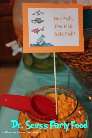 Dr. Seuss Birthday Party! Dr. Seuss Party Food Ideas, Games, Decor