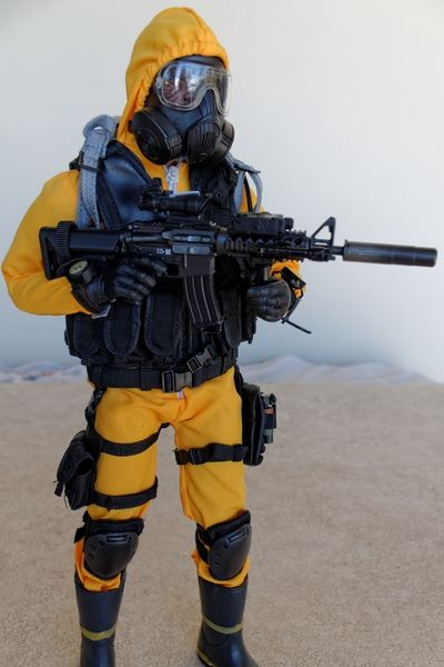 (Science) Fiction, Fantasy, & Adventure ZERT Agent - Version NBC (Hazmat Suit) - OSW: One Sixth Warrior Forum