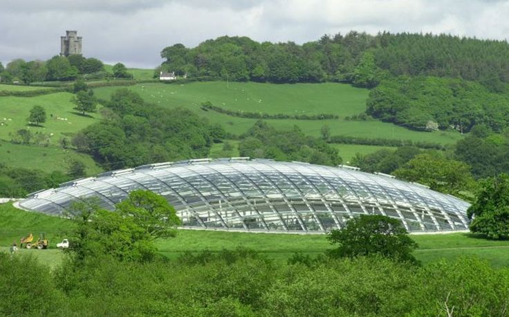 The National Botanic Garden of Wales - walking distance from our very own Paxton's Tower Lodge #Landmark Trust http://www.landmarktrust.org.uk/search-and-book/properties/paxtons-tower-lodge-10381
