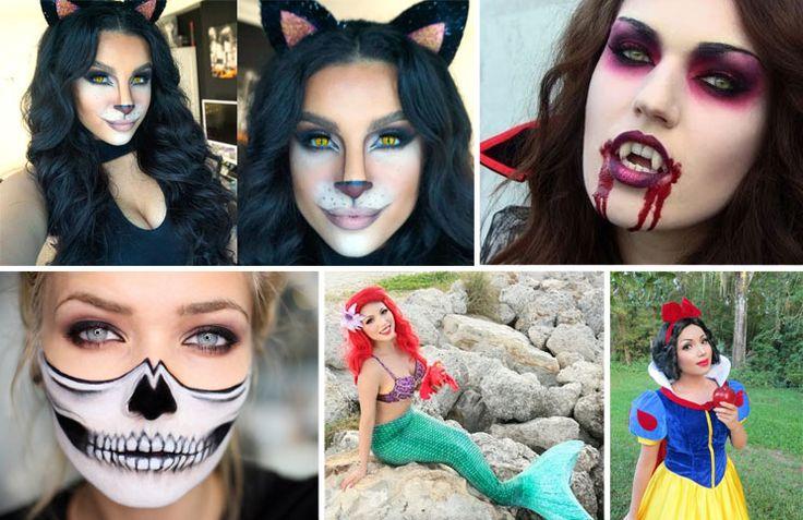 Αποκριάτικα μακιγιάζ: 9 εντυπωσιακές προτάσεις για τέλειες μεταμφιέσεις