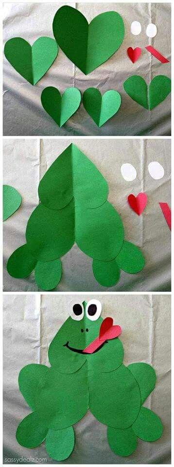 Heart frog.