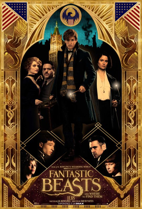 Check out the special Fantastic Beasts poster handed out at our Global Fan Event today with IMAX.