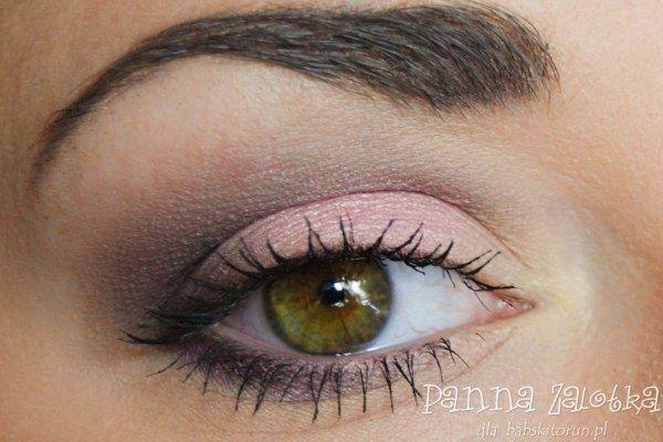 makijaż dzienny w różu i fiolecie - casual pink and purple makeup