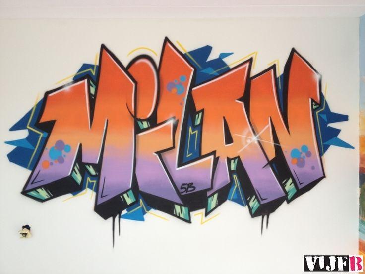 Afbeeldingsresultaat voor graffiti slaapkamer