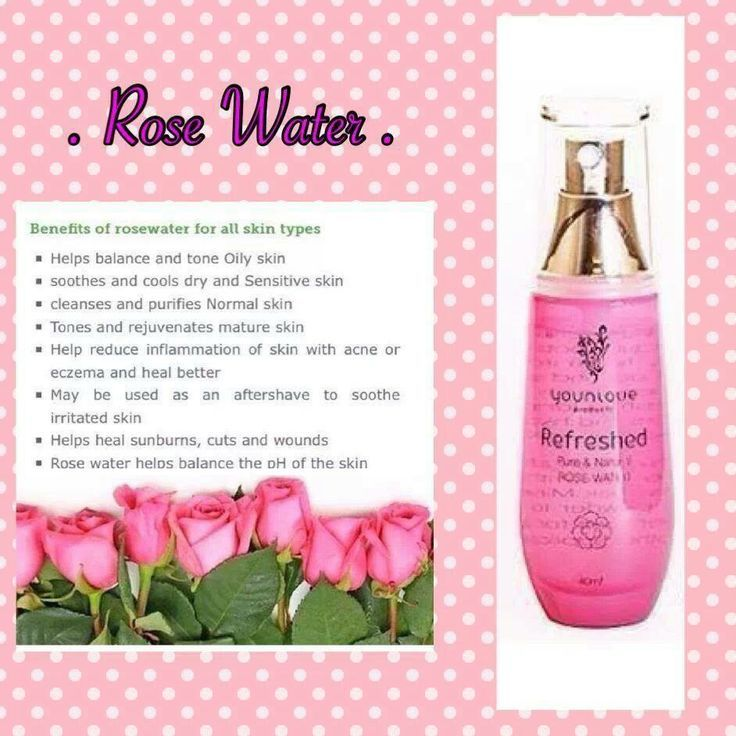 Younique Rose Water - This stuff is AMAZING!  Helps acne and is an awesome aromatheraphy potion.  It really helps my daughters when they are stressed.
