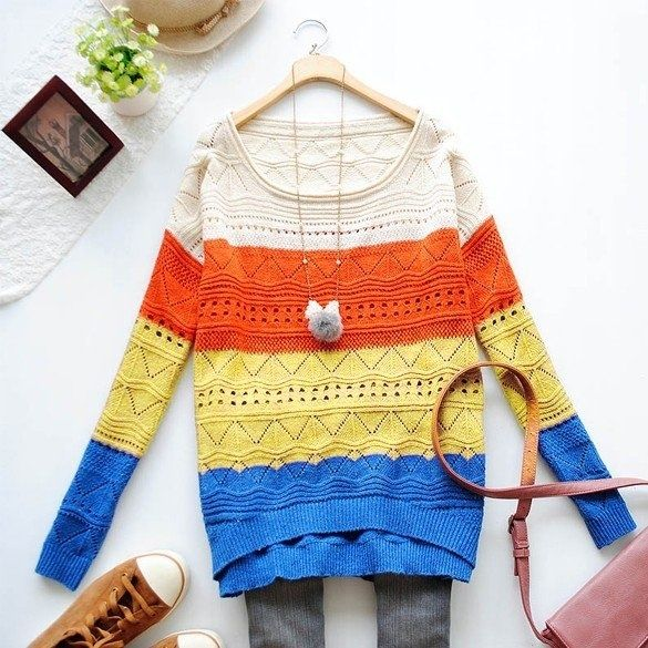 ❤Cute and sweet knitted top❤