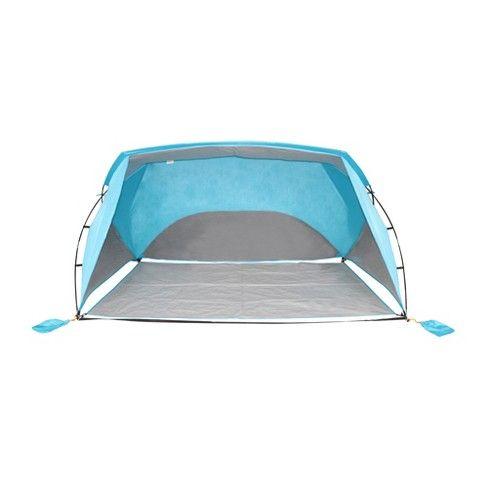9x6 Sun Shelter Turquoise Blue Embark Sand Bag Shelter Tent Tent