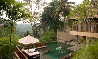 Luxury Villas at Kamandalu Ubud - 5 Star Resort in Bali