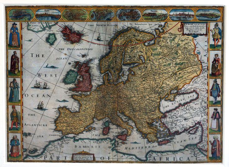 Antieke kaarten van Europa: nieuwe tentoonstelling in het Parlamentarium