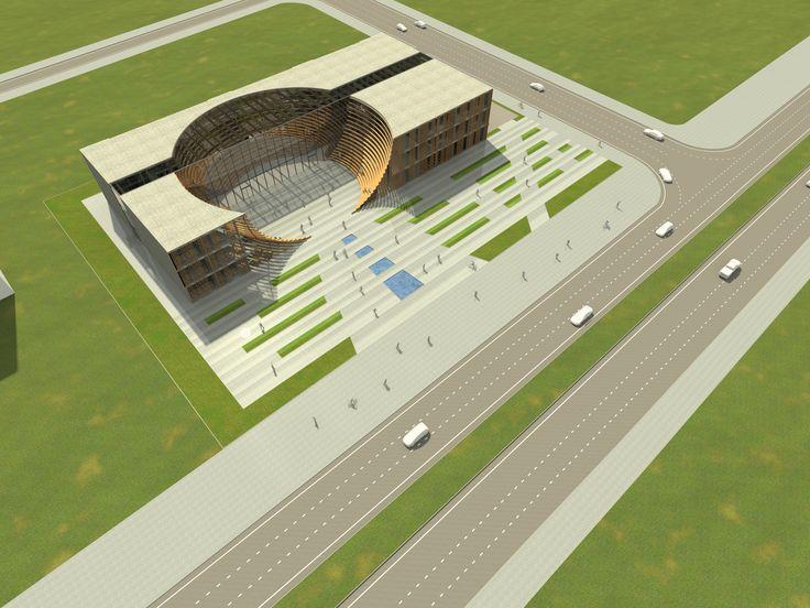 kayseri ticaret odası mimari proje yarışması