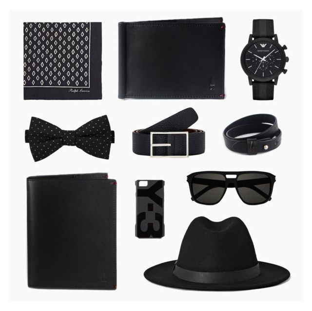 #24 Classic Black by Gnome & Bow on Polyvore | Book I The Hare & The Flying Tortoise Collection | Cloak Passport Wallet in Onyx Black | Regal Money Clip in Onyx Black