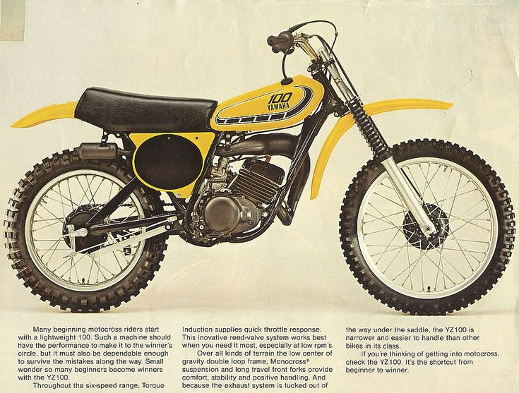 1976 Yamaha Yz100 State Of The Art For A Production Mx