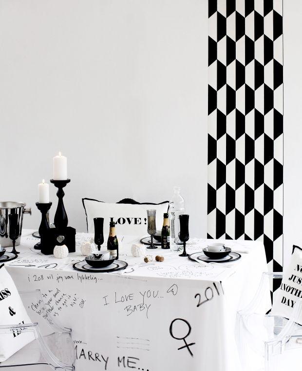 Dæk et festligt nytårsbord | Femina