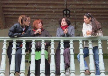 G Abolivier- F Swiatly- MH Lafon-B Cournut_Rencontres littéraires FOndation Facim