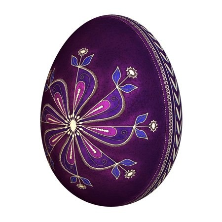 Pysanky egg design