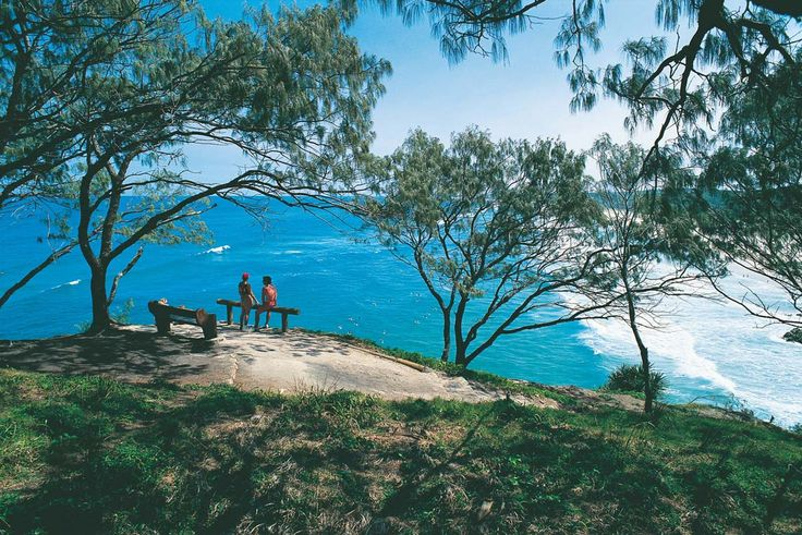 North Stradbroke Island is the perfect holiday escape with accommodation option from holiday homes to natural camping sites.