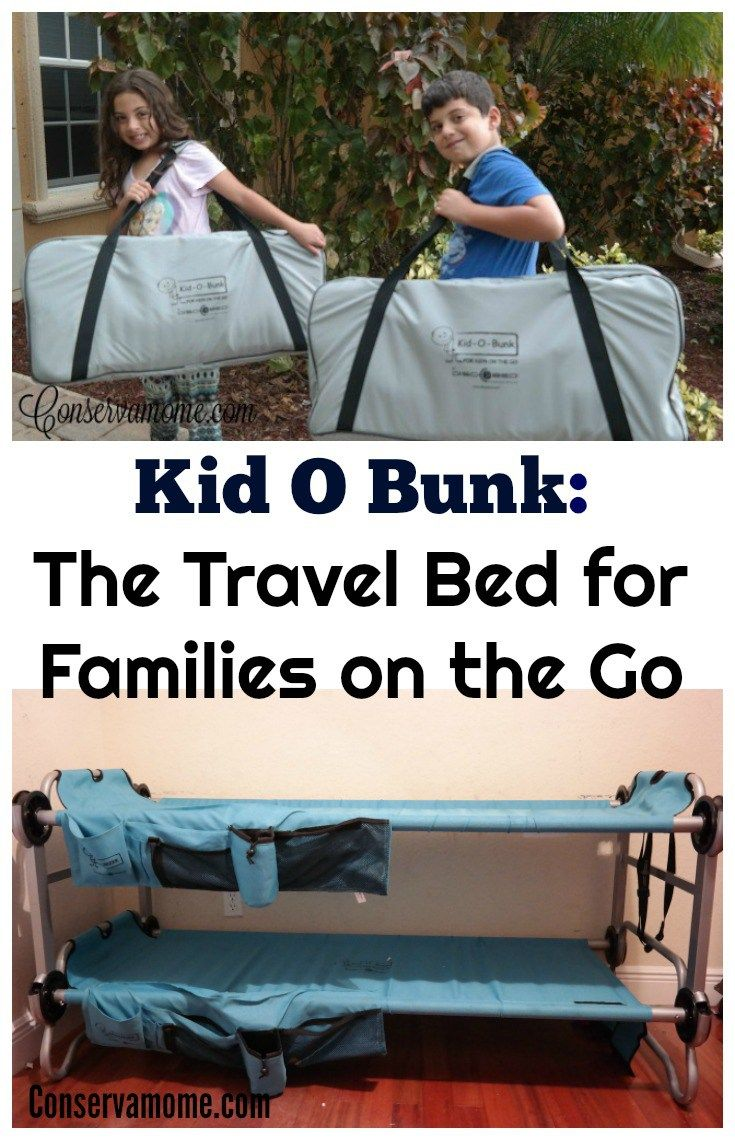 Kid O bunk :Travel Bed for Families on the Go | Family Travel | Travel with Kids | Travel Hacks