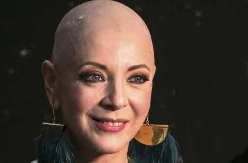 Edith González enfrenta sin miedo al cáncer