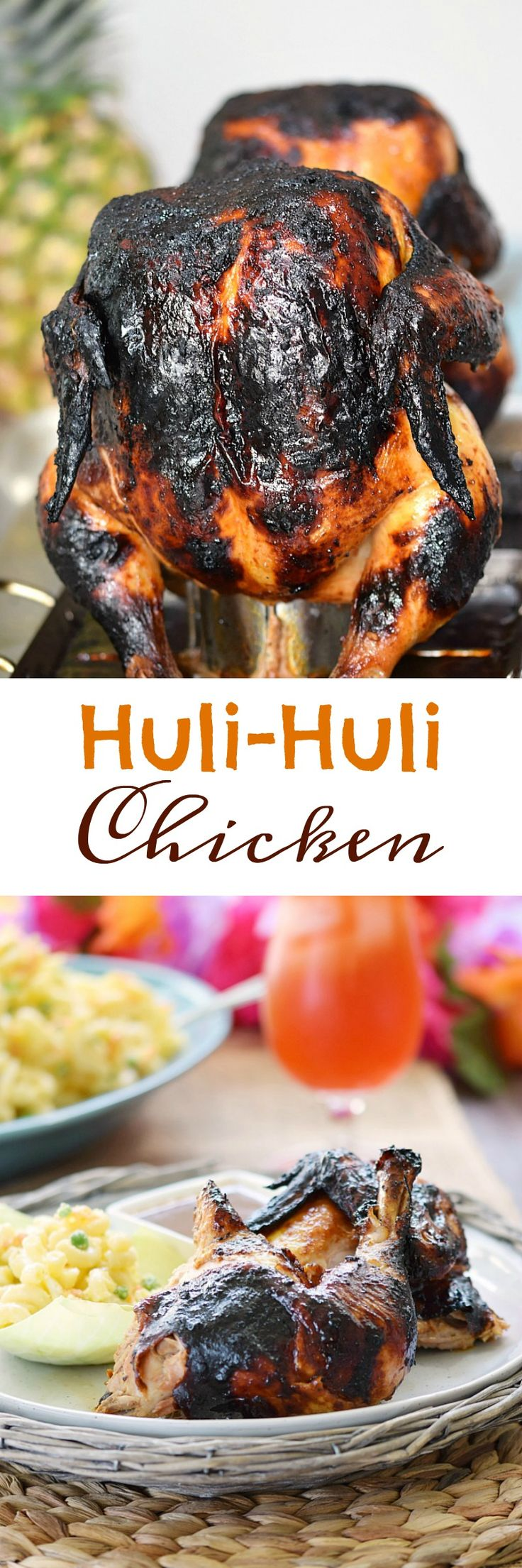 This sweet and sticky Huli Huli Chicken will have them coming back for more...and then back again. It's not an exact copy-cat, but that won't matter! cookingwithcurls.com