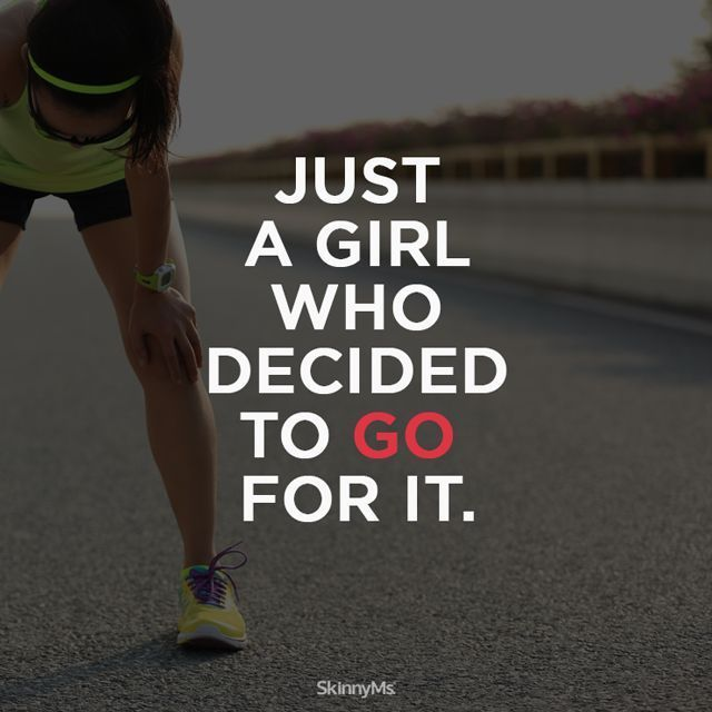 Yep, that's me. Just a girl who decided to go for it. And i've never felt better! #keepgoing