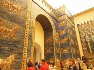 Berlin, Germany - The Ishtar Gate of Babylon, Pergamon Museum - Photo by Kathie Olesen
