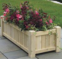 Large Wooden Planters-The Hampton