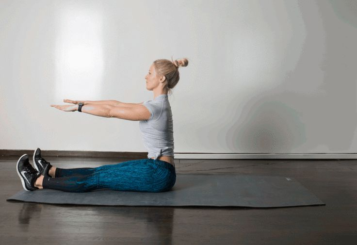 9. Roll Up #abs #bodyweight #workout http://greatist.com/move/best-exercises-lower-abs?utm_source=pinterest&utm_medium=social&utm_campaign=onsiteshare Put some extra effort into the tough-to-target area with these highly effective moves.