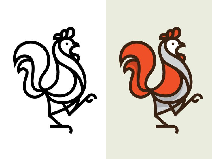 Rooster Mark by Nick Slater