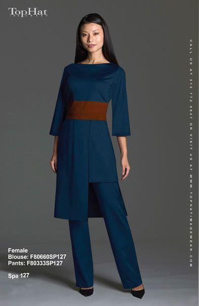 12 best uniforms images on pinterest for Spa uniform bangkok