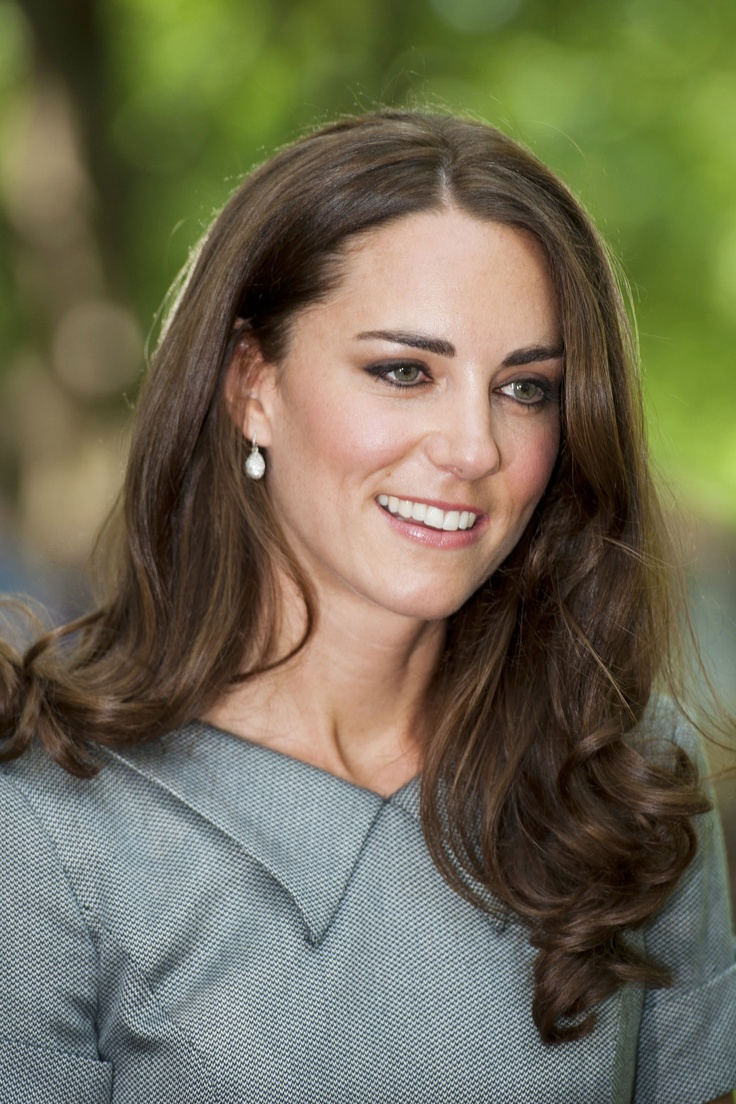July 2011 Kate Middleton Loose Ringlet Curls For A