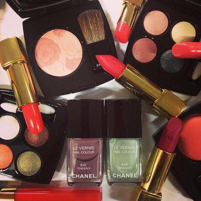 Chanel makeup - spring 2015
