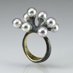 Akoya Pearl Jacks Ring,John Iversen