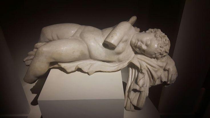 Eros dormiente. II sec.d.C.  Musei Capitolini.
