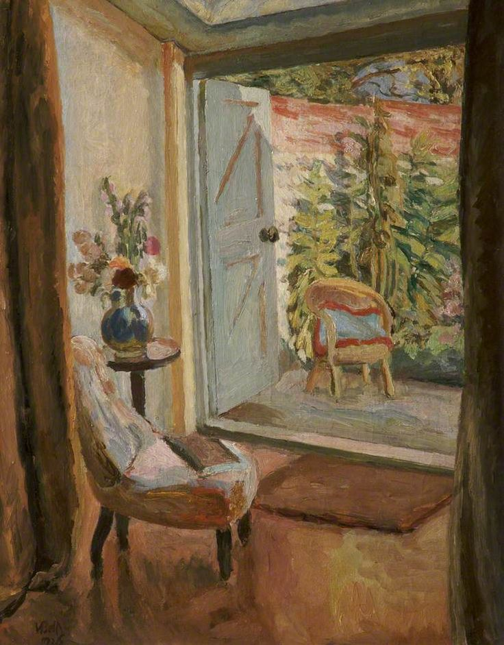 vanessa bell(1879–1961), vew into a garden, 1926. oil on board, 70 x 56 cm. bolton library & museum services, bolton council, uk http://www.bbc.co.uk/arts/yourpaintings/artists/vanessa-bell