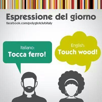 Spanish: Toca madera !