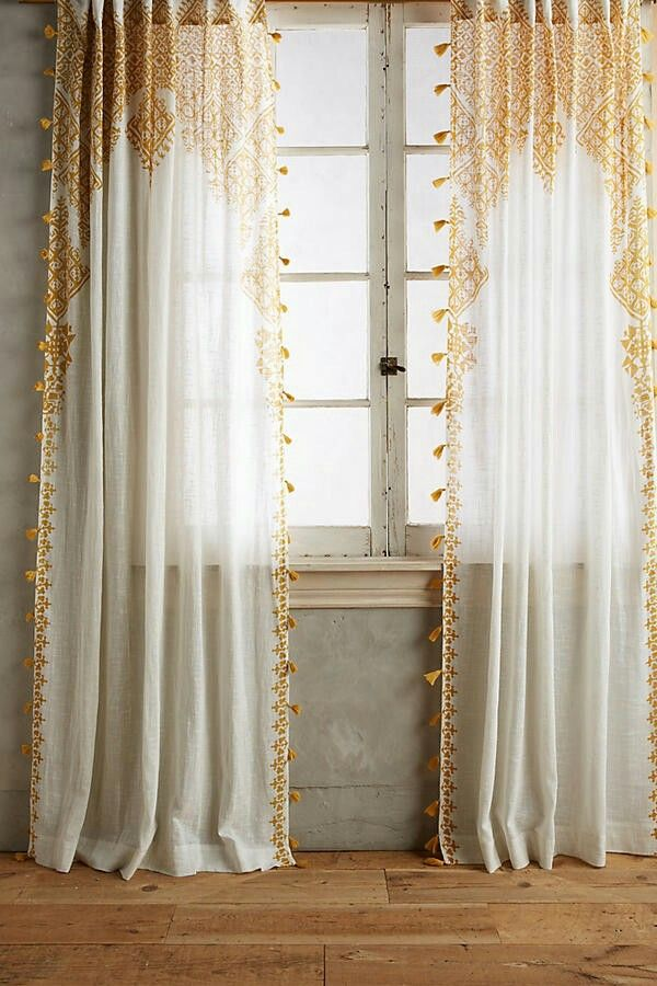 best 25  bohemian curtains ideas on pinterest