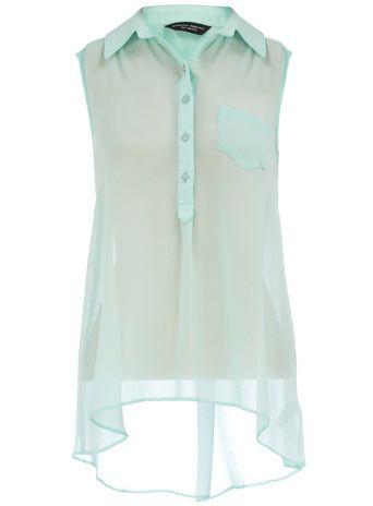 Dorothy Perkins  Mint dip hem blouse: As Sheer, Mint Dorthi, Ideas, Hemmings Blouses, As Dips, Dorothy Perkins, Ez Clothing, Dips Hemmings, Dips Shirts