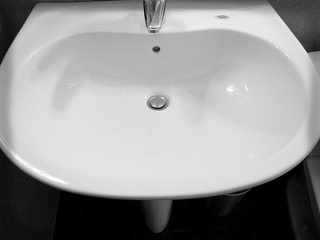 How Do I Drill A Ceramic Porcelain Sink Hunker Porcelain Sink Ceramic Sink Sink Repair