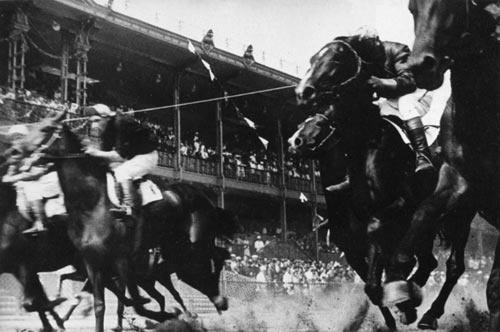 Aleksandr Rodchenko, Horse Race