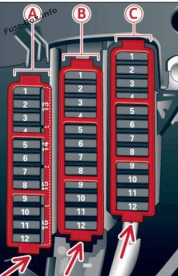 2014 audi a4 fuse box wiring diagram var audi a4 s4 b8 8k 2013 2014 2015 2016 fuse box diagram audi 2014 audi a4 fuse box