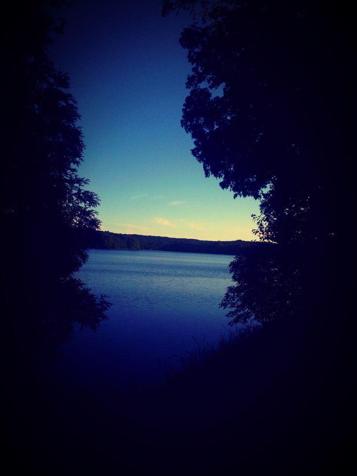 Lake Commanda in Restoule, Ontario