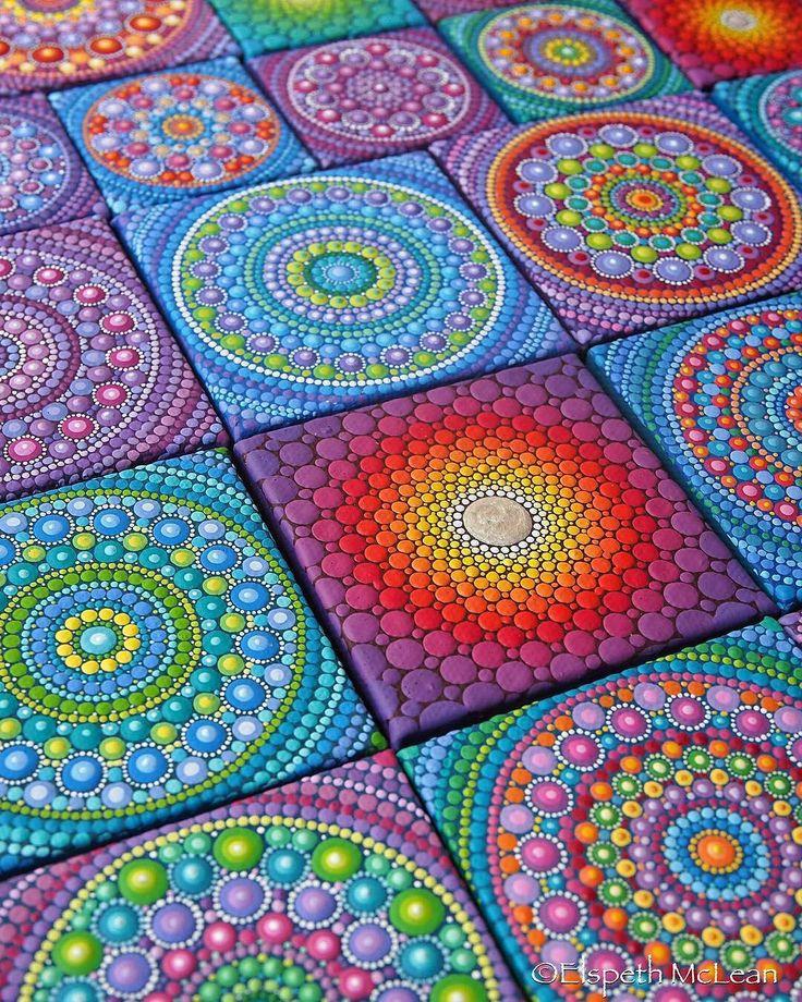 So Inspired Art by @elspethmclean For order - go to https://www.etsy.com/ca/shop/ElspethMcLean #mandalas #mandalalove #ornaments #mandalaart #mandala #zendoodle #zenart #zentangle #zendala #artists #doodleart #artworks #plates #мандала #colourfull #abstractartist #circle #colourful #patterns #plate #galleryart #geometrical #violet #artlovers #pinks #pattern #youmustsee #colours