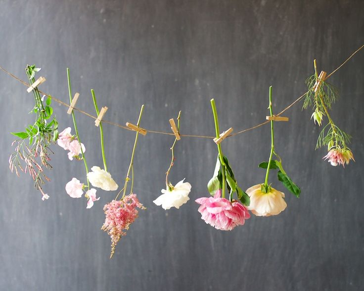 25 Best Ideas About Hanging Flowers On Pinterest Floral