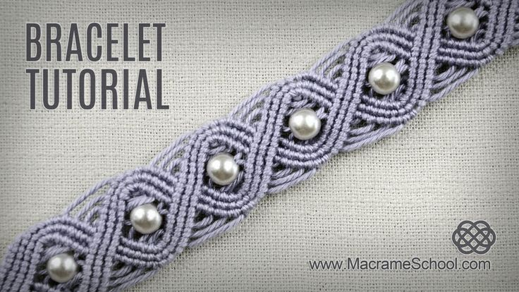 Eternal Wave Bracelet Tutorial in Vintage Style