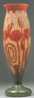 L'Art du Verre: Verre Français Spirales 47,5cm - Dorotheum 2006 - 2800-3200€