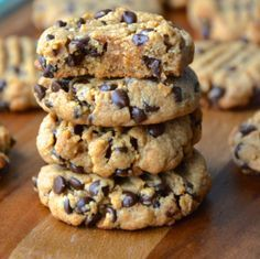 Ingredients: 1 cup creamy peanut butter1/2 cup unsalted butter, room temp.1 cup brown sugar1 egg3 tbs 2% milk1 tsp vanilla extract1.5 cups all purpose...