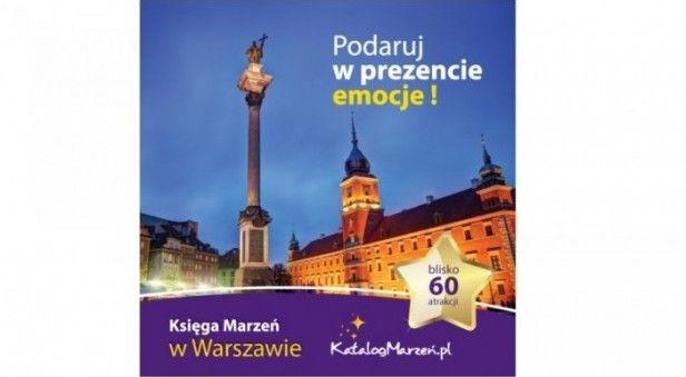 Prezent Księga Marzeń w Warszawie zdjęcie 1